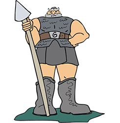 """Power   Lesson 19 in series """"All About Me""""  Goliath Clipart"""