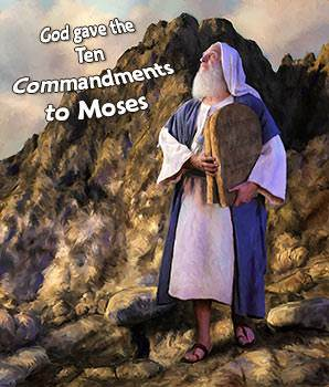 gods covenant with moses In this covenant, god promises to make the israelites his treasured possession among all people and a kingdom of priests and a holy nation, if they follow god's commandments as part of the terms of this covenant, god gives moses the ten commandments.