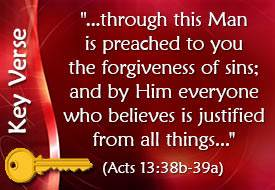 Forgiven Forever - Lesson 8 in God's Great Salvation