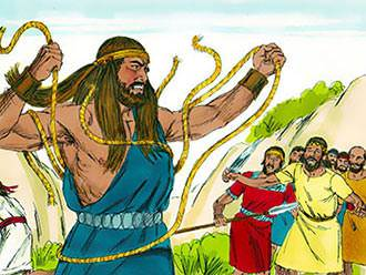 samson lesson 12 in character by character