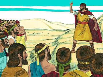 where did elijah meet the prophets of baal and asherah