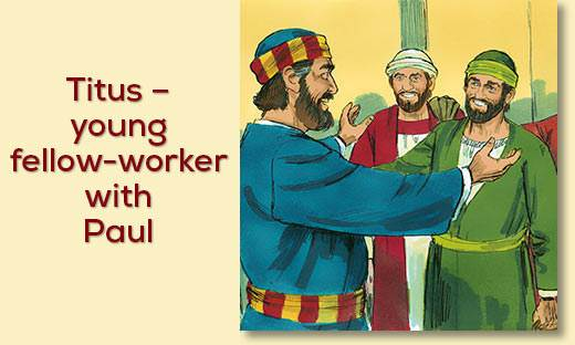 barnabas and paul relationship to titus