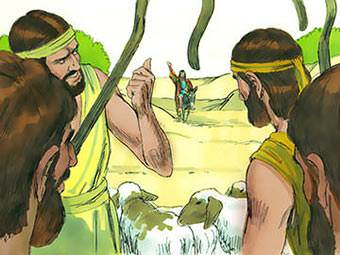 """Here comes Joseph!"""" the brothers said."""