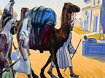 The men with the camels had taken him far from home. But the heavenly Father knew where Joseph was.