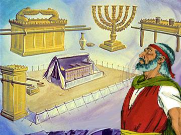 God revealed to Moses every detail of the construction of the Tabernacle