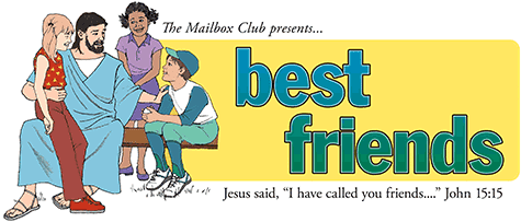 lessons for children about Jesus, their best friend