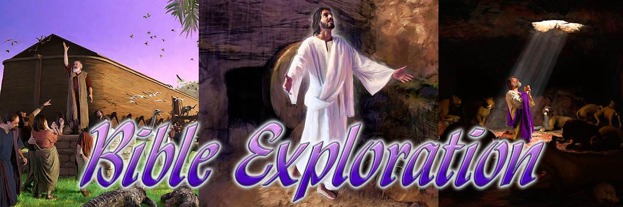 Welcome to Bible Exploration online lessons