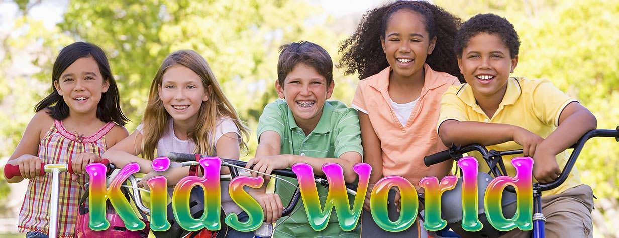 Welcome to Kids World online lessons