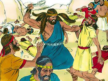 Samson was the strongest man who ever lived